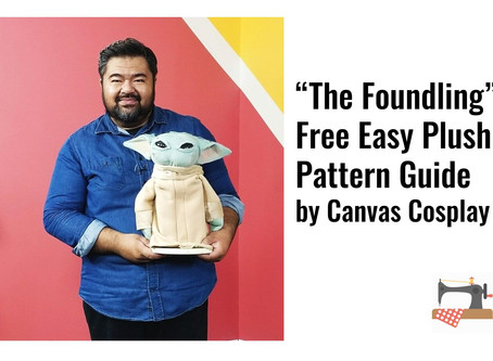 """The Foundling"" Free Easy Plush Pattern Guide by Canvas Cosplay"