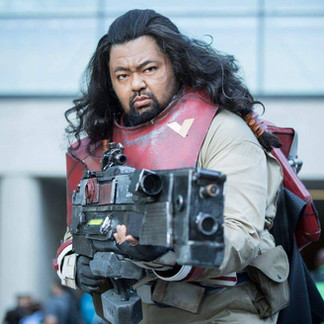 Baze Malbus from STAR WARS Rogue One