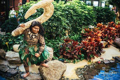 Feature: Moana Maui Costume is Worthy of a Demigod