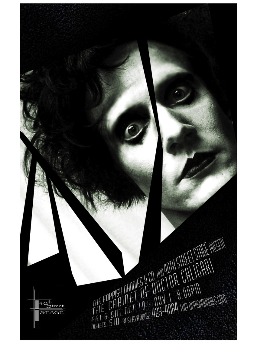 The Cabinet of Dr. Caligari Key Art