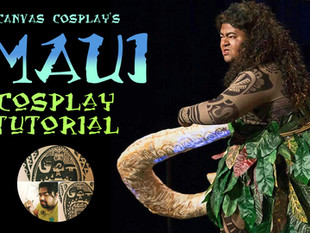 Tutorial: Maui from Disney's Moana