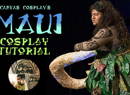 Tutorial: Maui from Disney's Moana