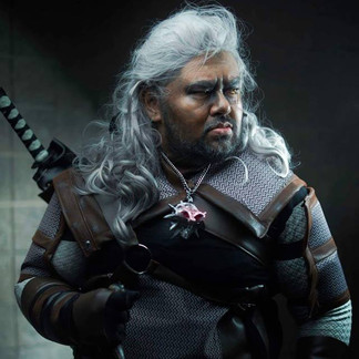 Geralt of Rivia from The Witcher