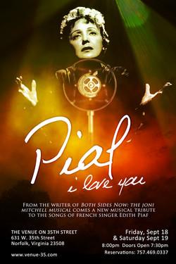 Piaf I Love You - Key Art