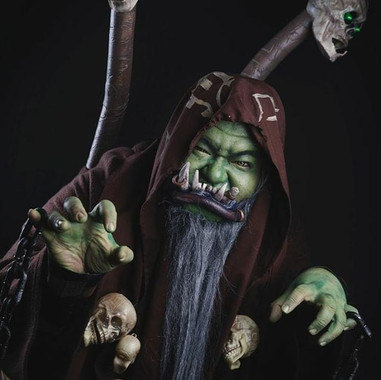 Orc Mage Gul'Dan from Warcraft