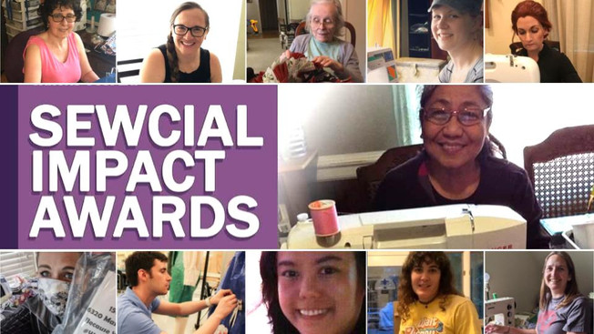 Winners Announced for 2020 Sewcial Impact Awards