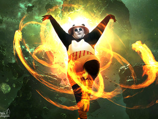 "Feature: ""This 'Kung Fu Panda' Cosplay Is All In"""