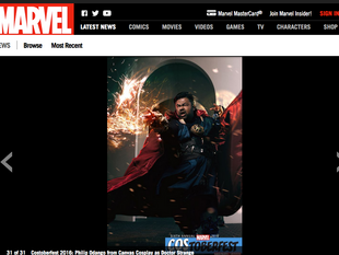 Canvas Cosplay's Doctor Strange featured by MARVEL #Costoberfest