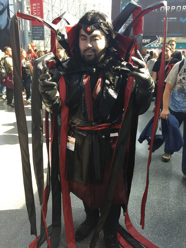"""""""Mister Sinister"""" Canvas Cosplay featured in Forbes Magazine"""