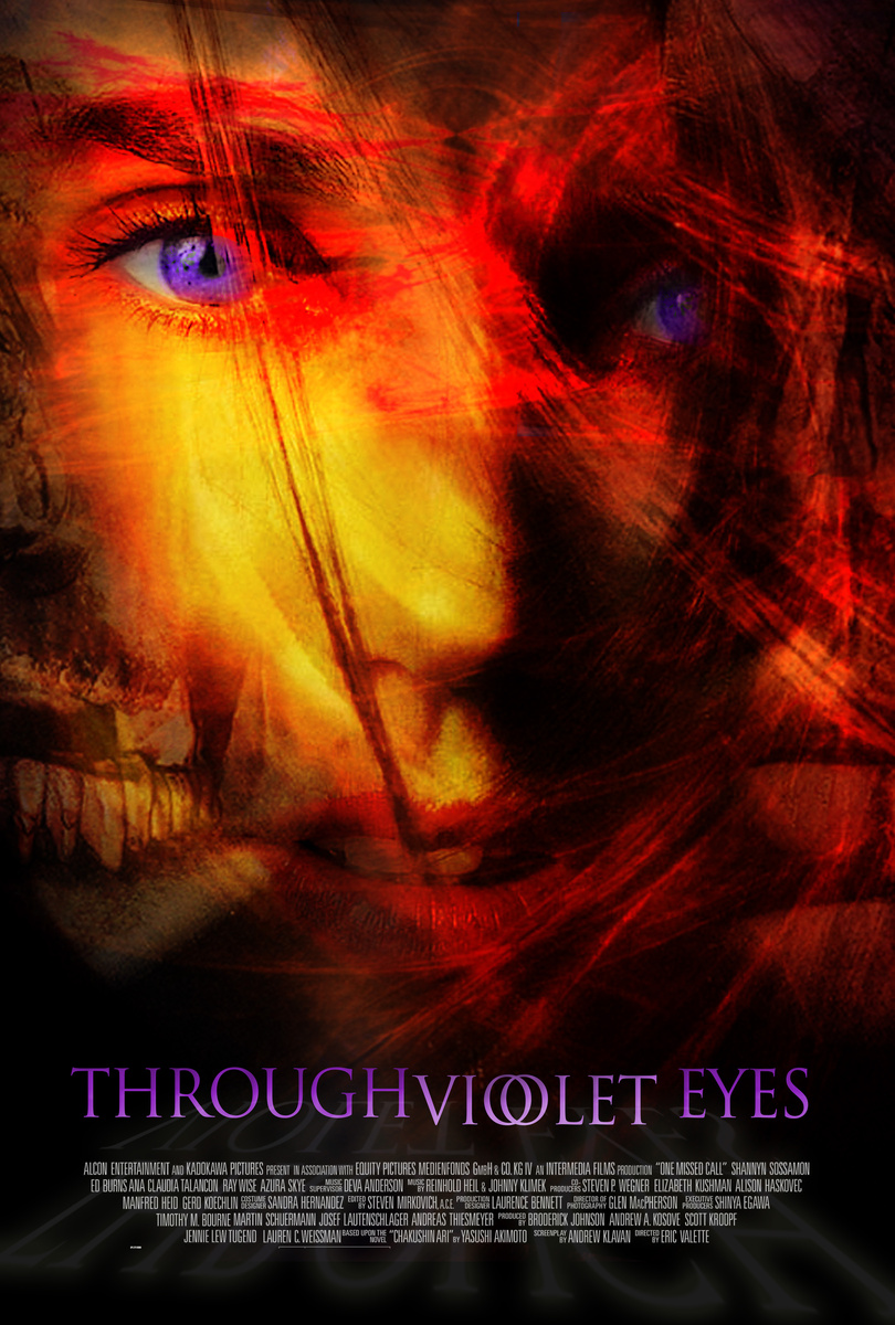 Through Violet Eyes - Film Key Art