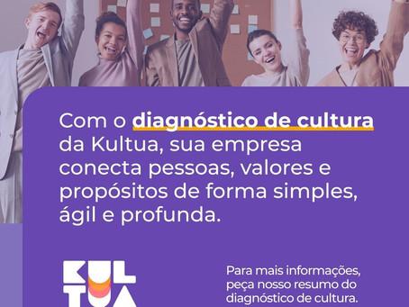 Com o diagnóstico de cultura da Kultua, sua empresa conecta pessoas, valores e propósitos