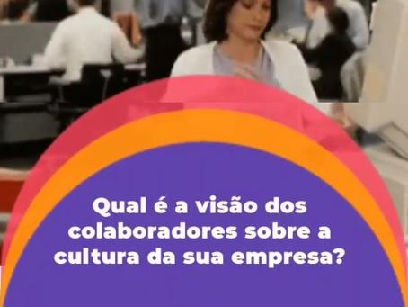 Qual é a visão dos colaboradores sobre a cultura da empresa?