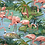 Thumbnail: Turban réversible flamant rose