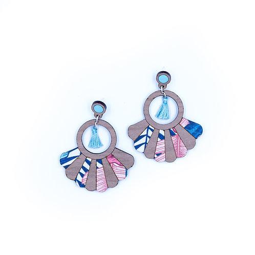 Boucles d'oreilles Frida papillon