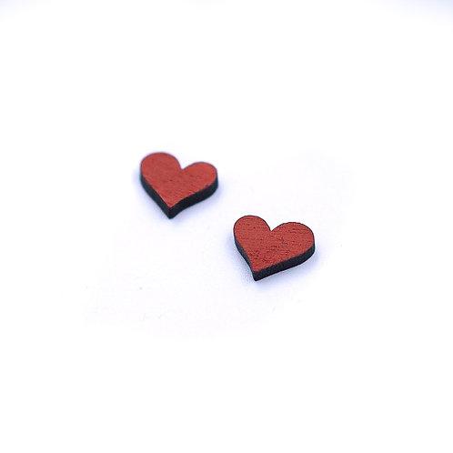 Boucles puces Coeur