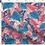 Thumbnail: Bandeau cheveux réversible papillon uni bleu