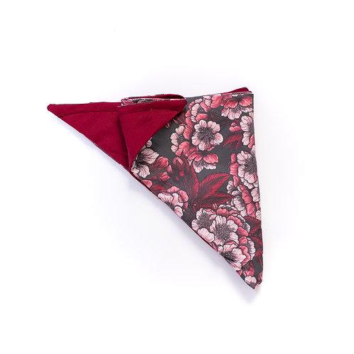 Turban réversible fleurs de cerisier
