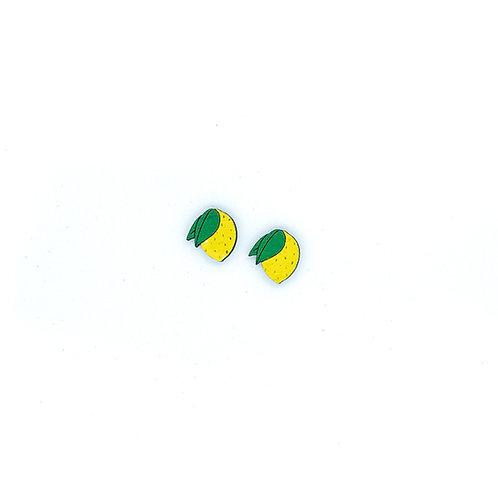 Boucles d'oreilles petits citrons