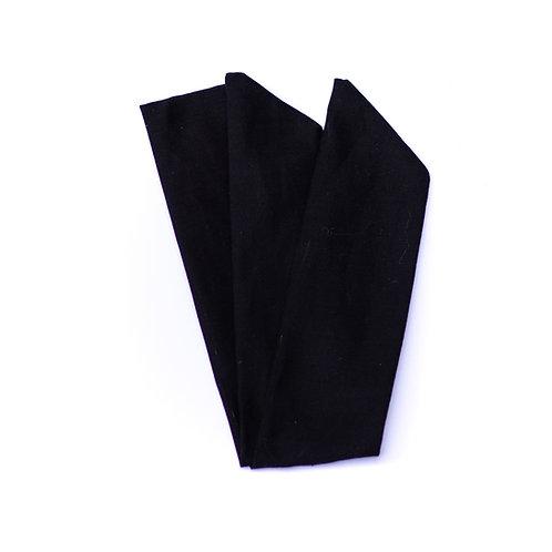Bandeau uni noir
