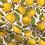 Thumbnail: Turban réversible citron