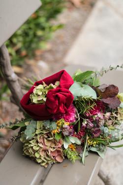 headband-velours-bouquet-de-fleurs