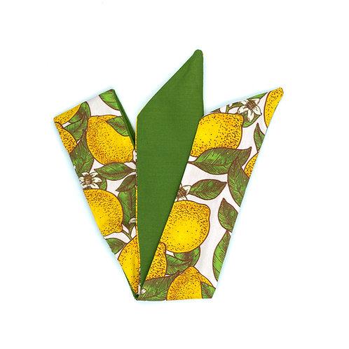 Bandeau cheveux citron