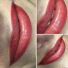permanentni makeup rty