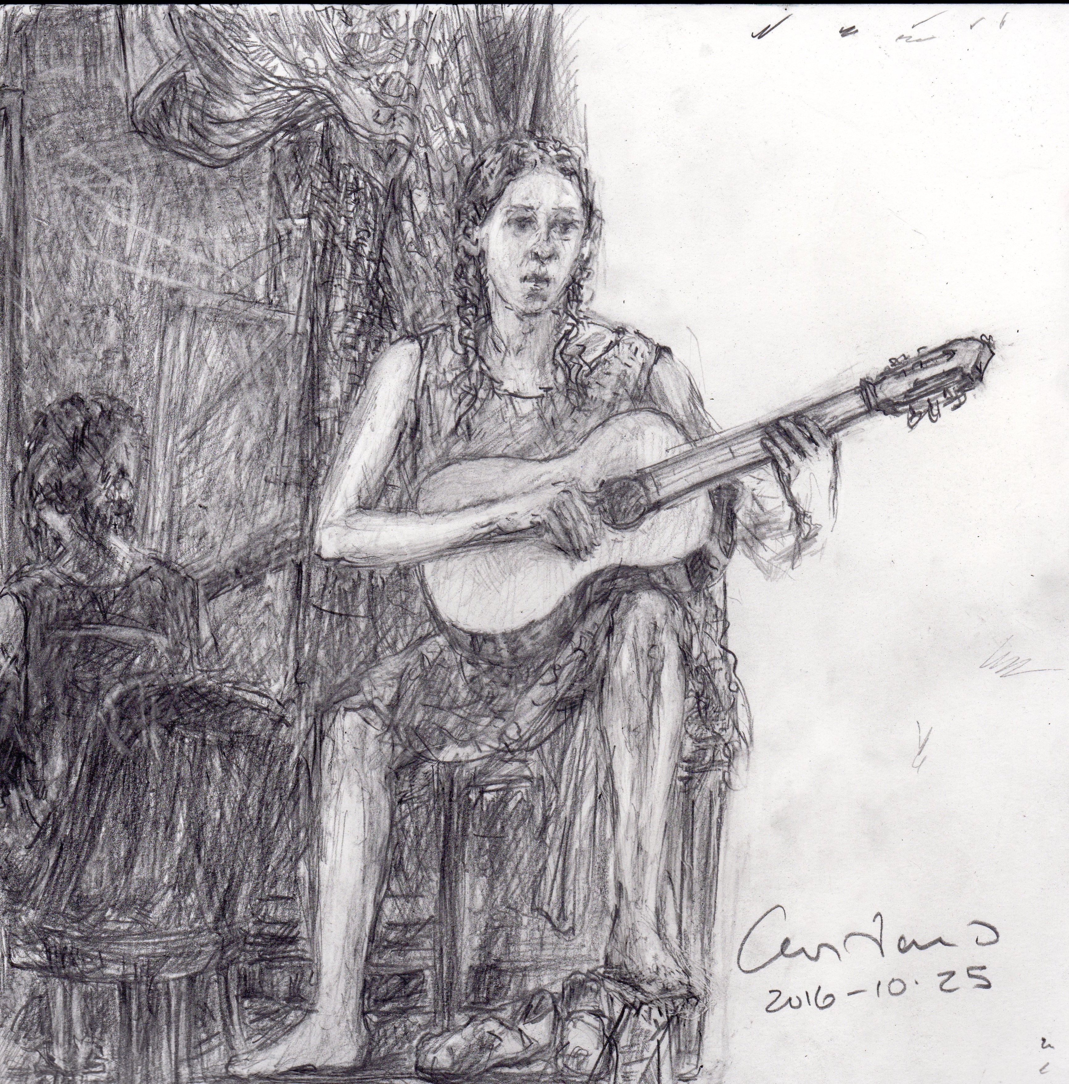 2016-10-25_MARIAN PLAYING GUITAR #2