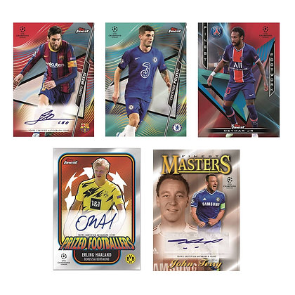 Topps UEFA Champions League Finest 2020-21