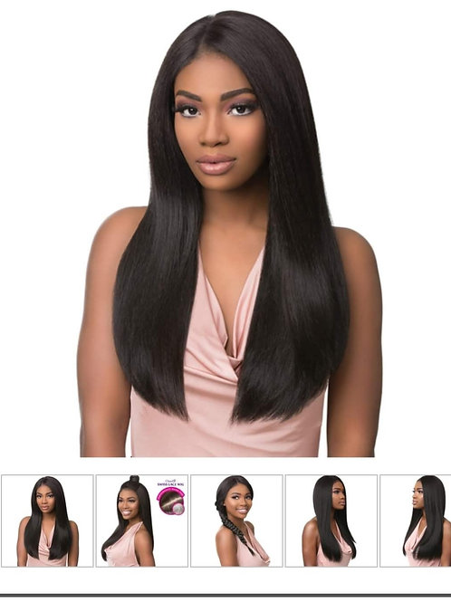 """SENSATIONNEL HUMAN HAIR BLEND HAND TIED FULL LACE WIG 26"""""""