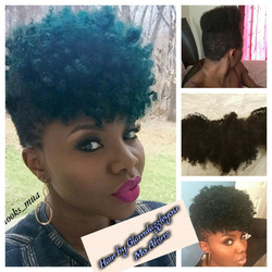 Hair extension Color and Cut