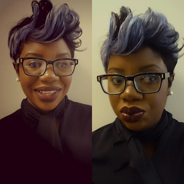 Instagram - Love my new silver greyish hair.jpg