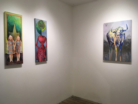 Clarence Rich at Deep Space Gallery