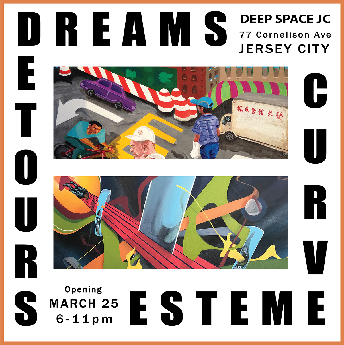 Detours and Dreams flyer