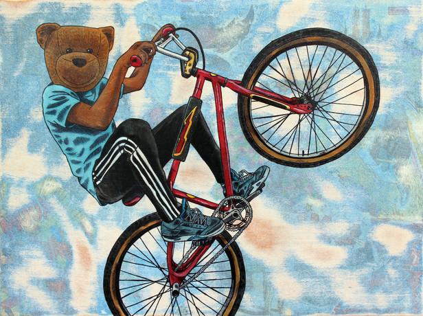 12 x 16 Riding Dirty copyright Sean 9 Lu