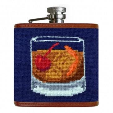 Old Fashioned Flask | PreppyMasks.com