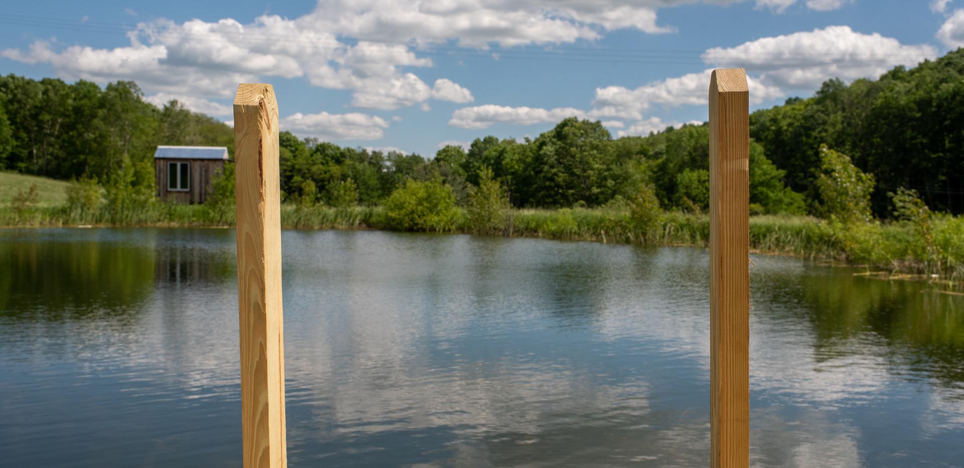 Swimming Pond Ladder