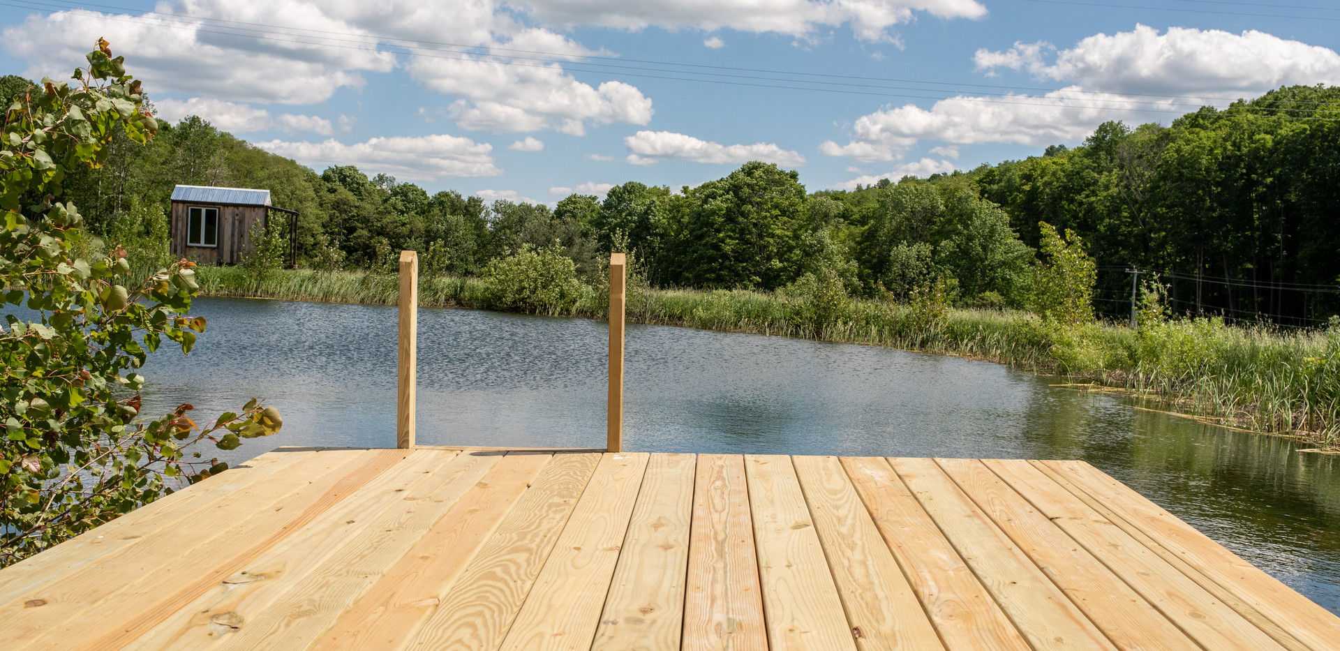 Dock on Swimming Pond