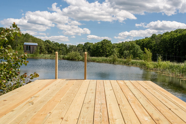 Dock on Swimming Pond