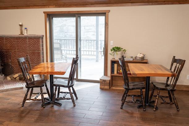Lodge Breakfast Area
