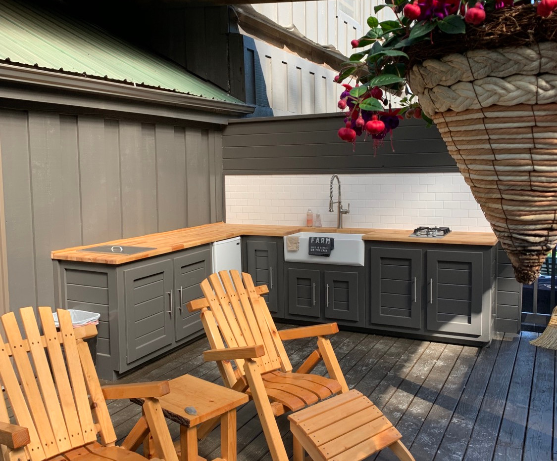 Lodge Outdoor Kitchen
