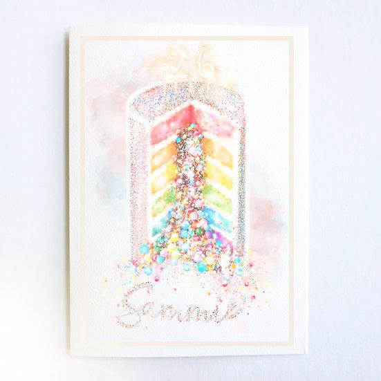 Say It In Sprinkles (Single Card)