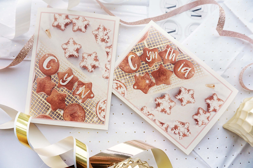 Custom Cookies (single card)