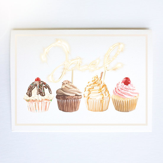 Cupcake Queen (Single Card)