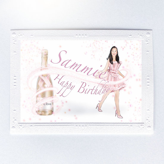 Champagne Chic (Single Card)
