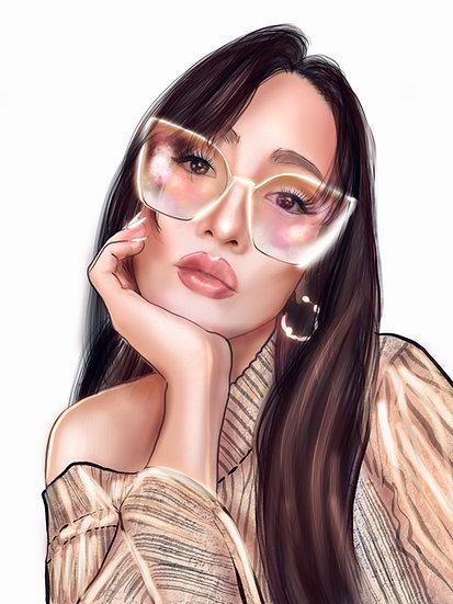 Custom Portrait/ Single Figure Illustration