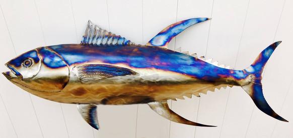 4ft Steel yellow fin tuna