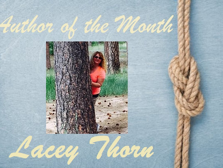 Author of the Month – October 2021 – Lacey Thorn