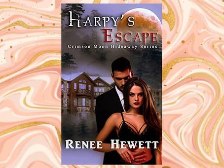 Book Birthday – Harpy's Escape – Renee Hewett