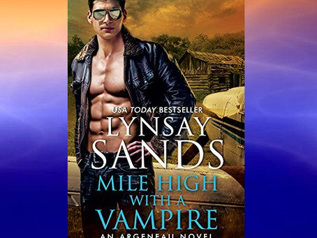 Book Birthday – Mile High with a Vampire – Lynsay Sands